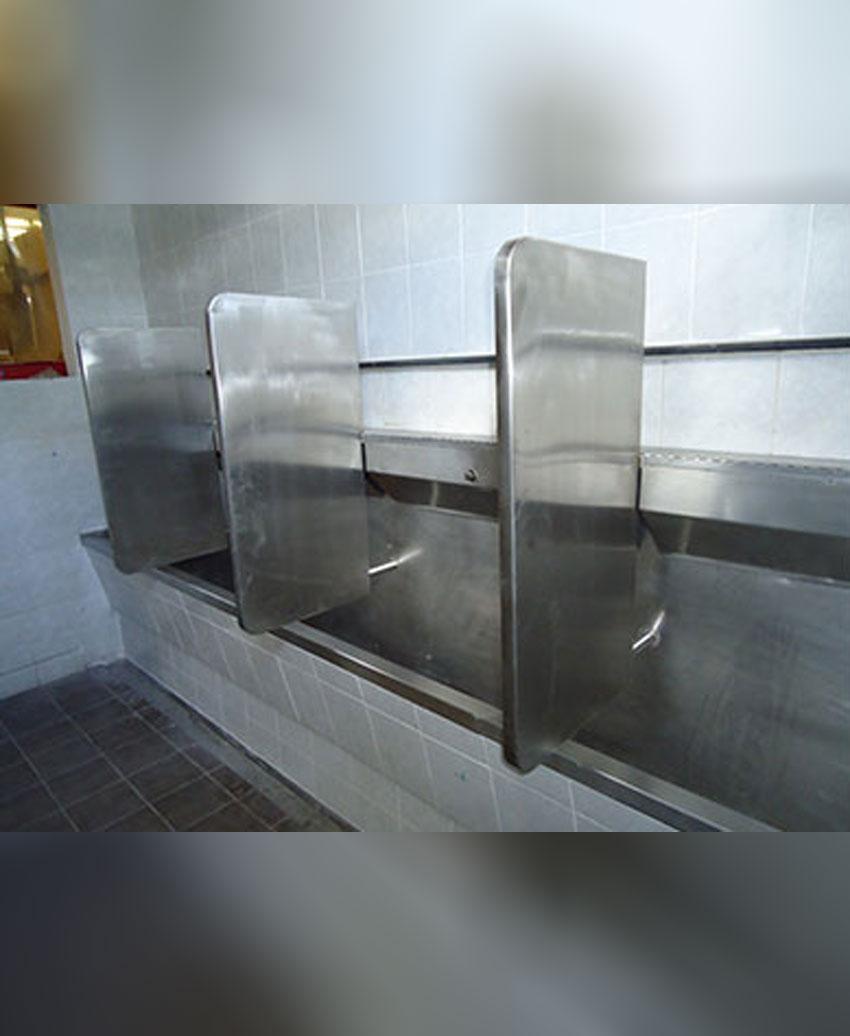 รับผลิตและติดตั้งประตูห้องน้ำสแตนเลส
