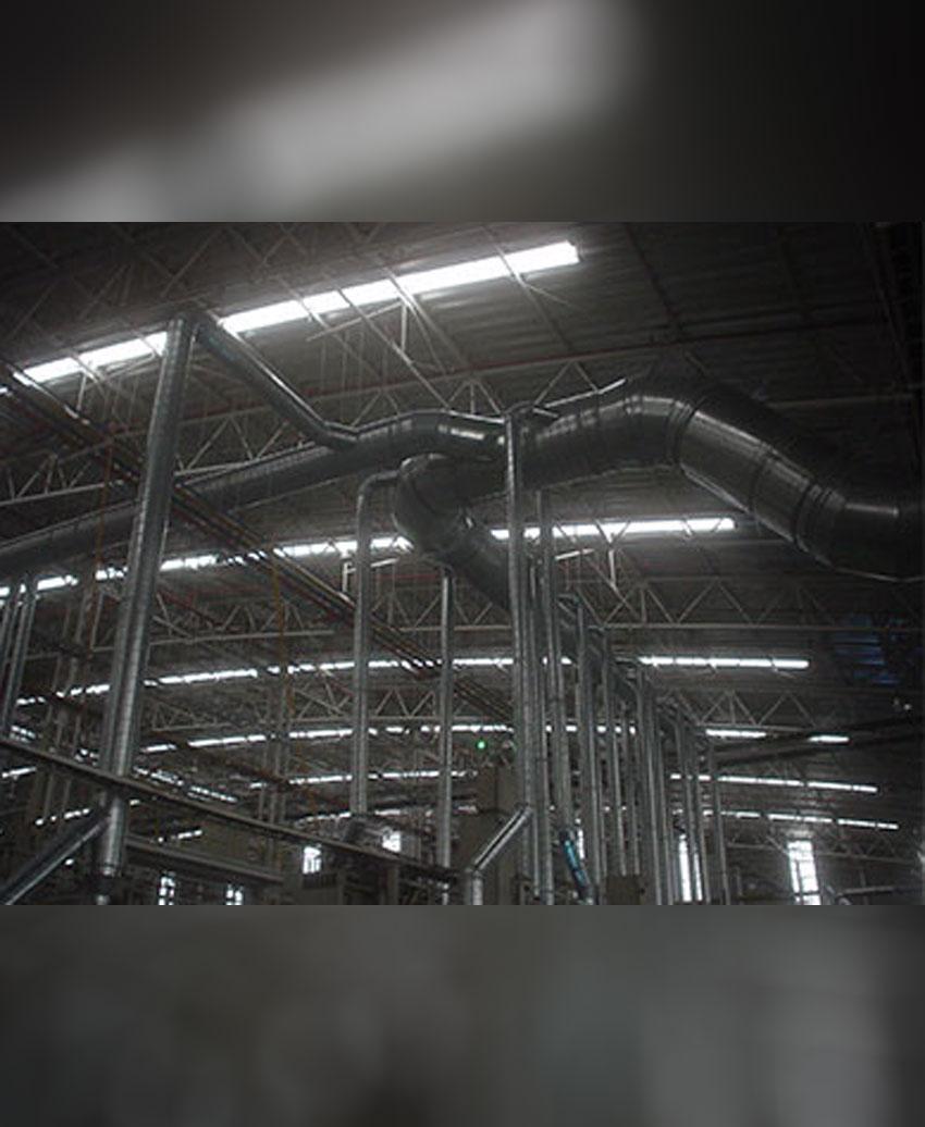 รับผลิตและติดตั้งระบบท่อดูดระบายอากาศ