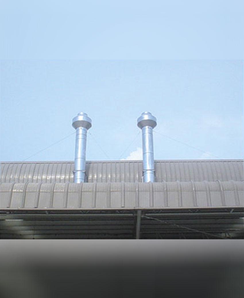 รับผลิตและติดตั้งงานวางท่อระบายอากาศ